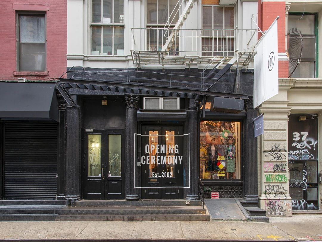 Opening Ceremony Announces All Stores Will Close This Year