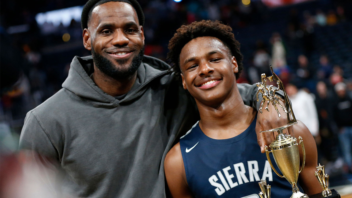 SOURCE SPORTS: Bronny James Currently Recovering From a Torn Meniscus