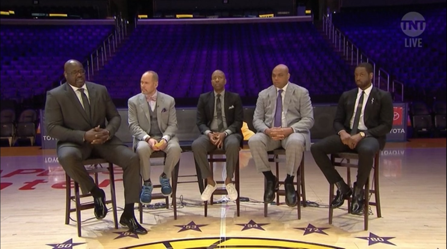 Shaquille O'Neal Breaks Down On-Air Talking About Kobe Bryant