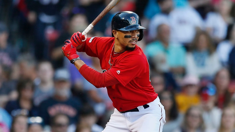 SOURCE SPORTS: Dodgers Acquires Red Sox's MVP Mookie Betts