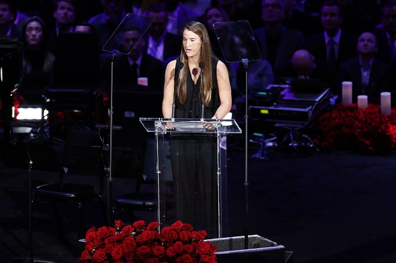 SOURCE SPORTS: Sabrina Ionescu Delivers a Moving Speech at Kobe And Gianna Memorial, Then Goes On To Make NCAA Basketball History