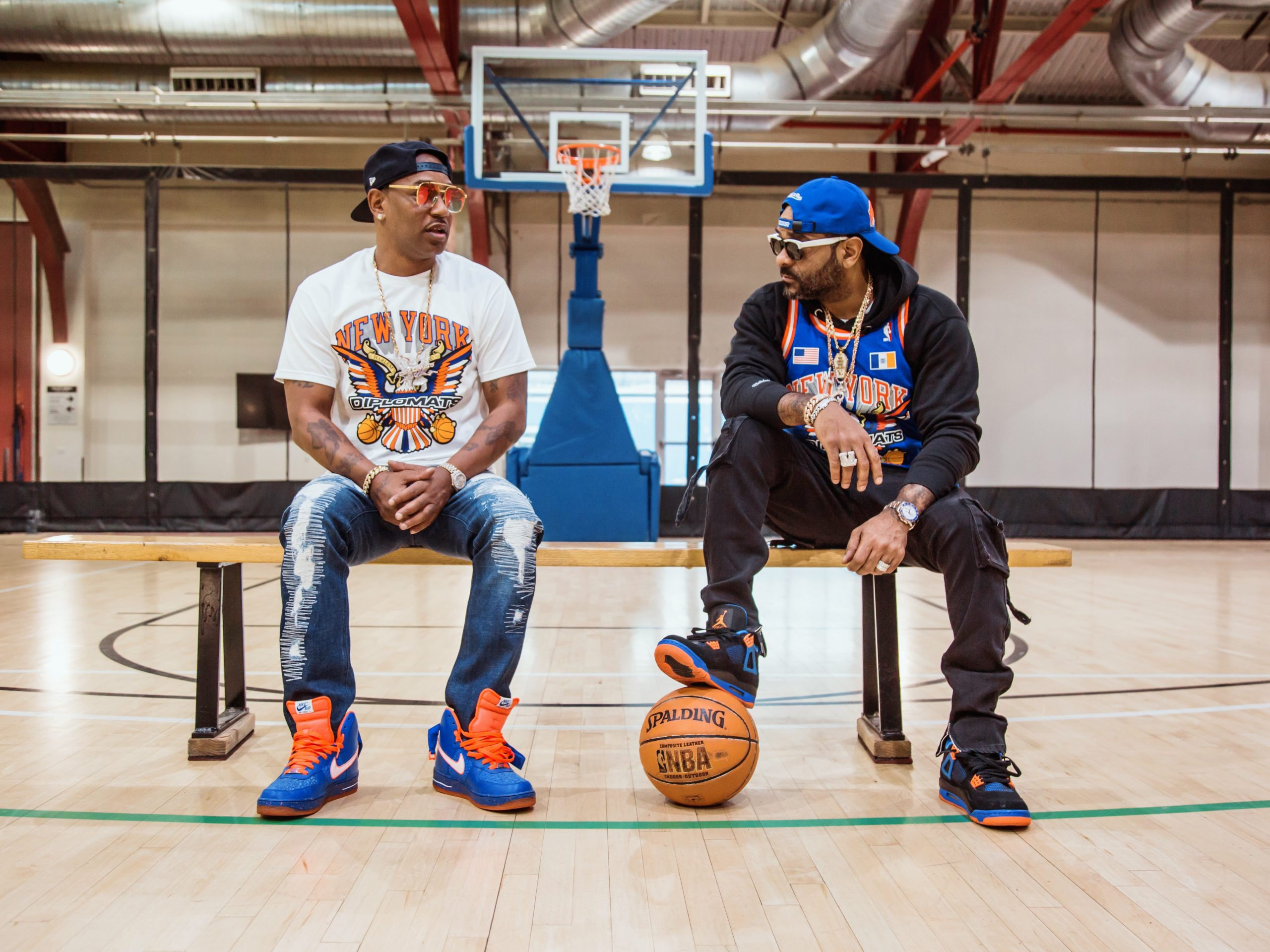 Bleacher Report x Mitchell & Ness x Dipset and Others Reimagine NBA Team Designs in NBA Remix Apparel and Headwear Collection