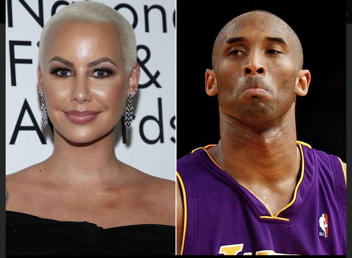 [WATCH] Amber Rose Explains How Her Forehead Tattoo Was Inspired By Kobe Bryant's Death