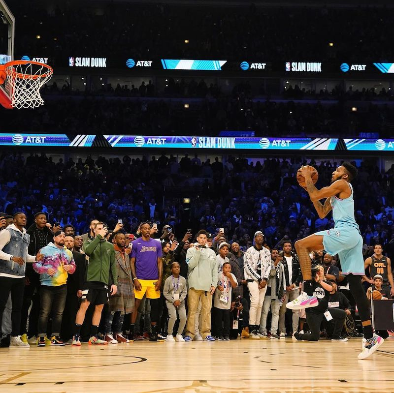 Run It Back: Derrick Jones Jr Is Down For a Rematch With Aaron Gordon in the Slam Dunk Contest in 2021