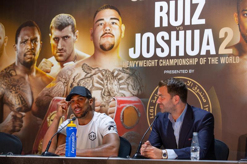SOURCE SPORTS: Eddie Hearn Wants Anthony Joshua to Fight Fury