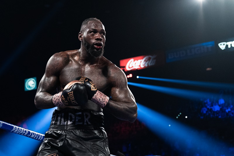 Deontay Wilder's Fiancee Says Fury's COVID Case Was An Effort To Buy Time