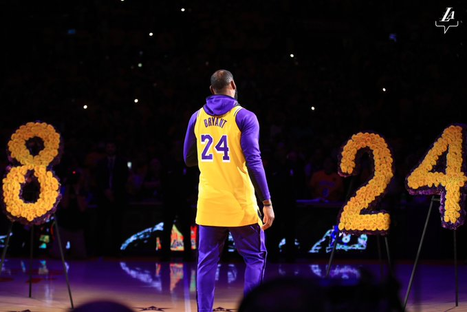 SOURCE SPORTS: LeBron James Speaks From the Heart  Before Lakers' First Game Honoring Kobe Bryant