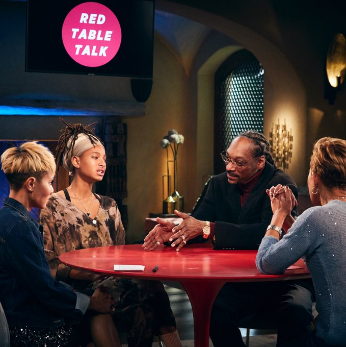 Snoop Dogg is Set to Appear on 'Red Table Talk' on Wednesday