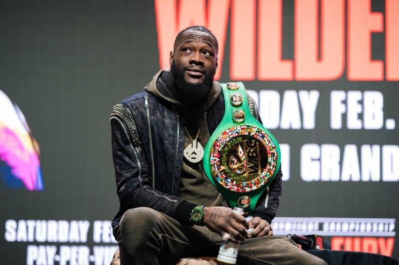 SOURCE SPORTS: Deontay Wilder Appointed 'Peace Ambassador' By Pope Francis