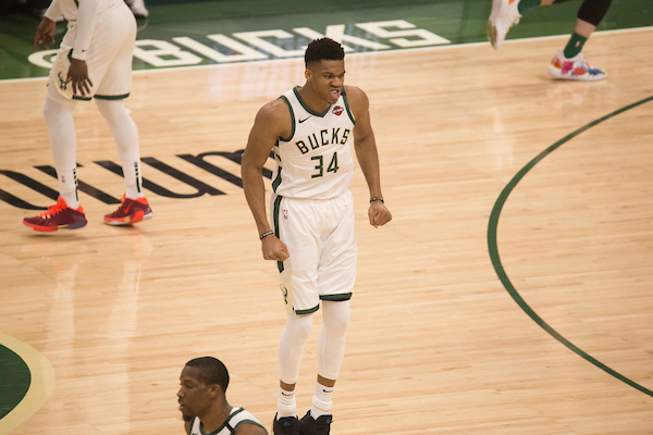 SOURCE SPORTS: Giannis Antetokounmpo Enjoyed the Super Bowl Halftime Show a Little Too Much