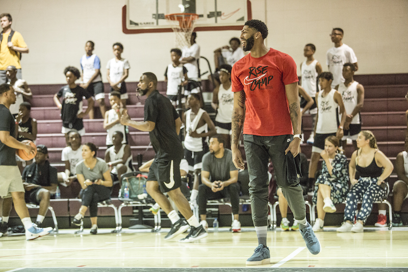 Exclusive: Anthony Davis on Being an All-Star in Chicago and the Importance of Giving Back to His Hometown