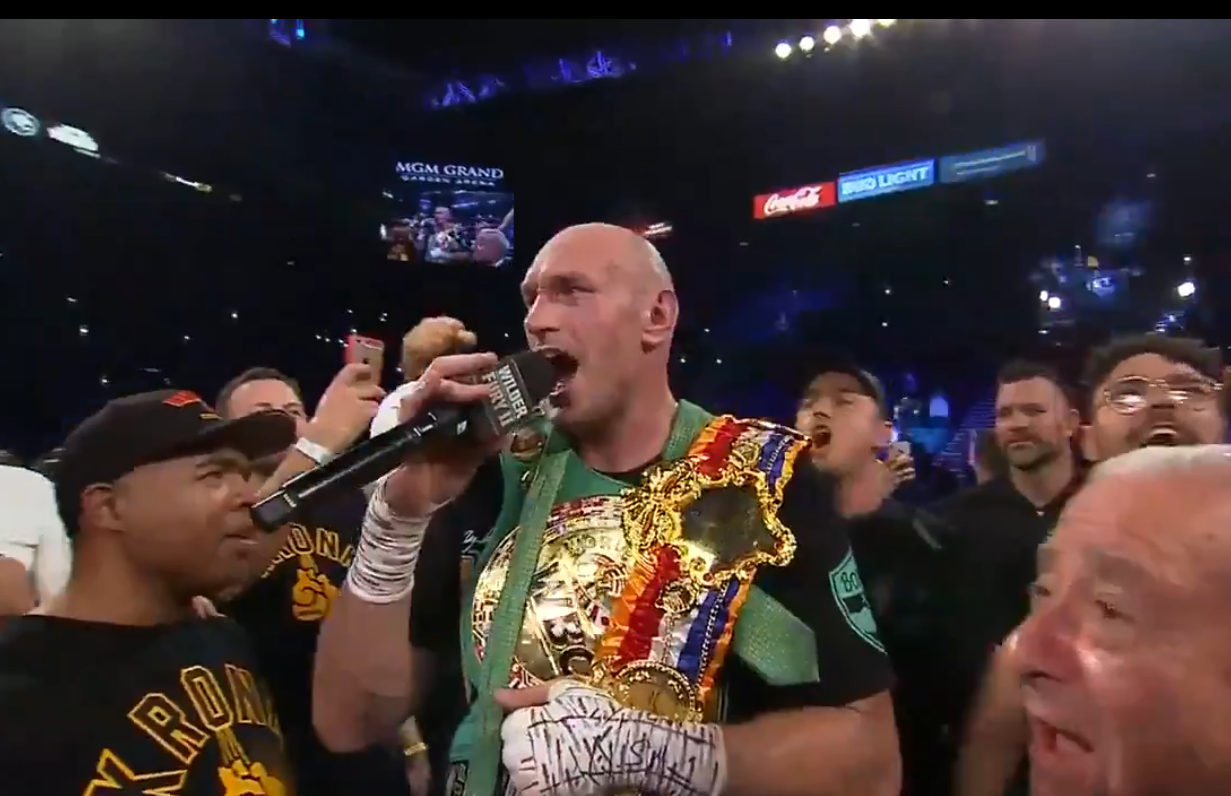 SOURCE SPORTS: Tyson Fury Defeats Deontay Wilder Via 7th Rd TKO