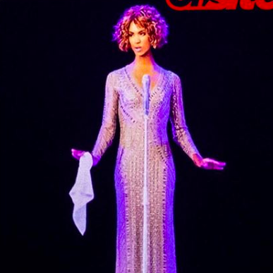 [WATCH] Fans Baffled At Debut Of 'Whitney Houston Hologram Tour'