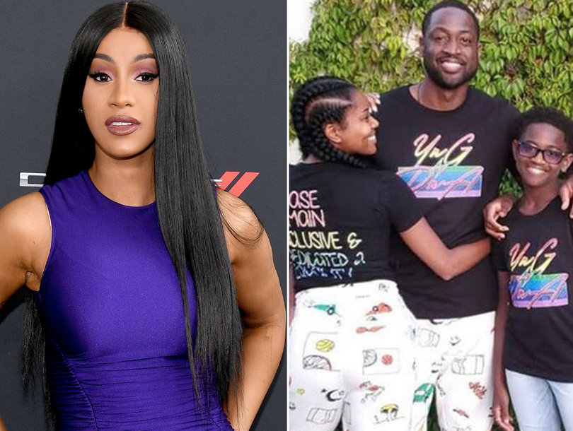 [WATCH] Cardi B Defends Dwyane Wade's Trans Child on IG Live