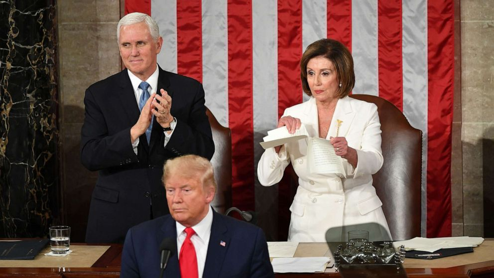 Speaker Pelosi So Gangsta at the #SOTU, Rips Up Trump's Address; Has No Time For Petty President's Speech