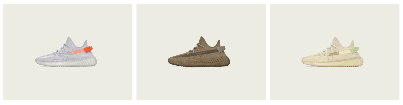 adidas + Kanye West Announce The Yeezy Boost 350 V2 Tail Light, Flax, And Earth