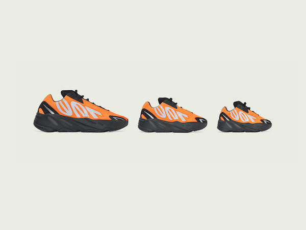 adidas + Kanye West Announce The Yeezy Boost 700 Mnvn Orange
