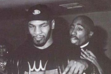 Tupac and Mike Tyson