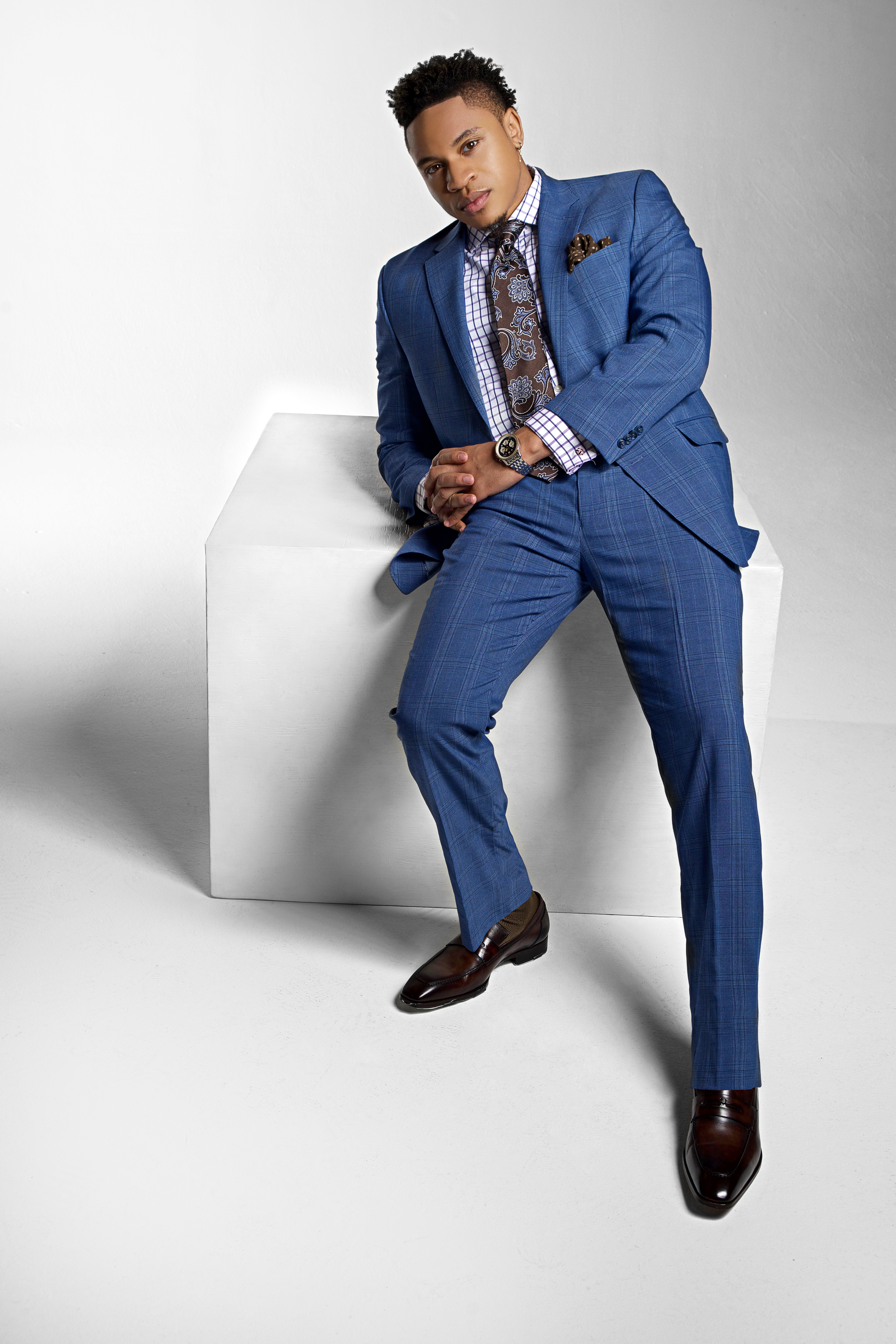 Rotimi is the New Face of Sean John's S/S 2020 Tailored Suit Campaign