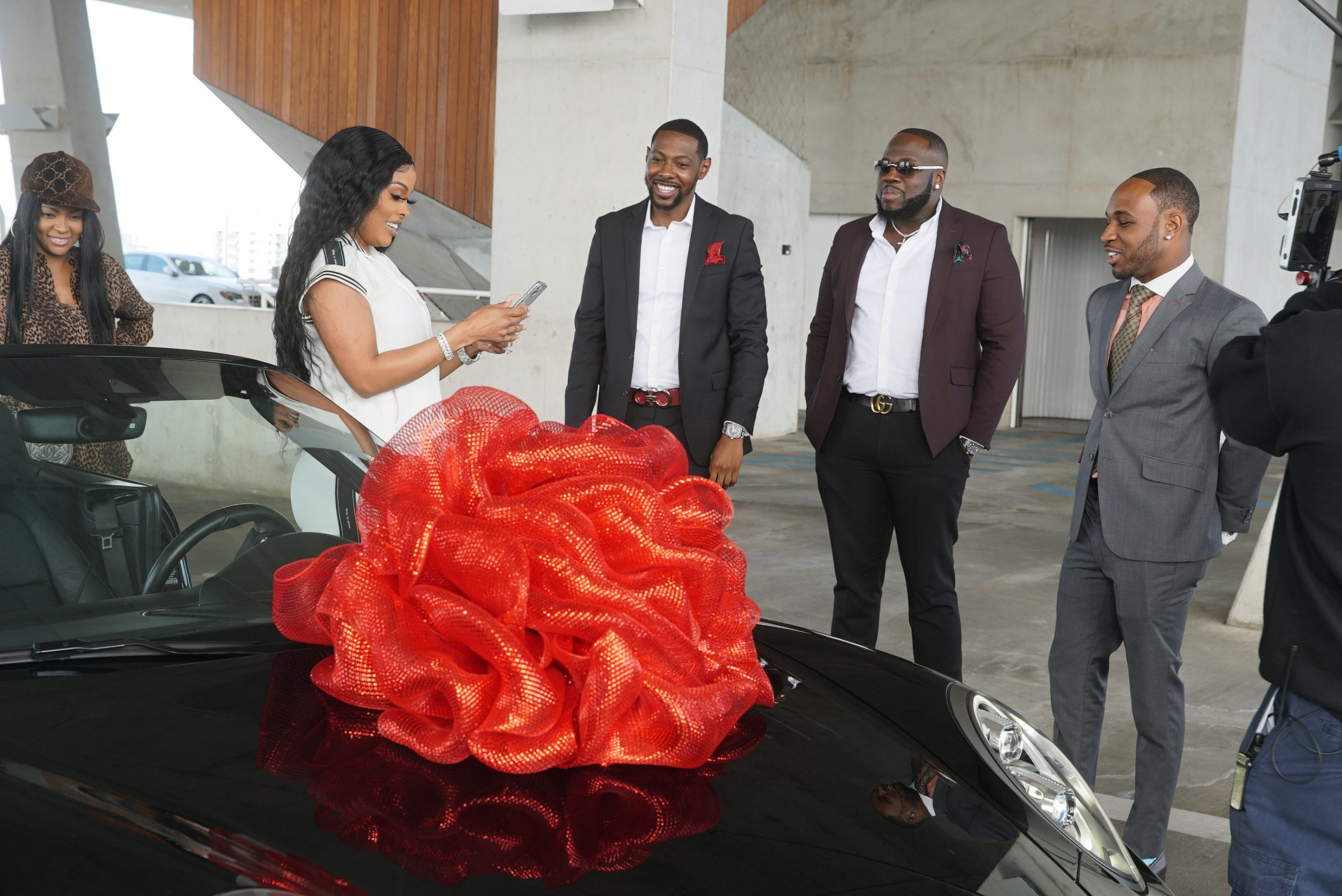 Snapchat Joins Forces With 3 Black Millenial Millionaires to Showcase Their Automotive Company, PTG365 Auto