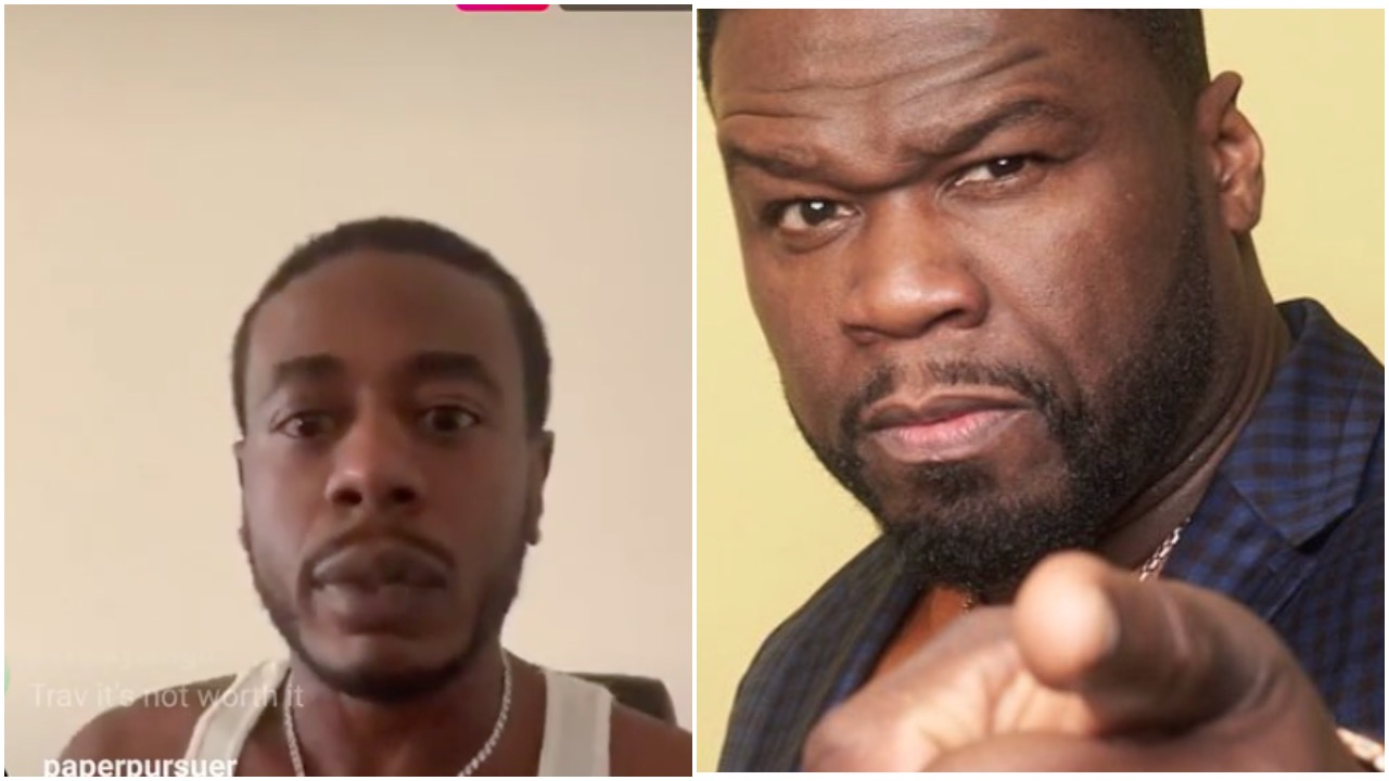 Former G-Unit Affiliate Trav Claims 50 Cent Was Taking Steroid Shots…Among Other Things
