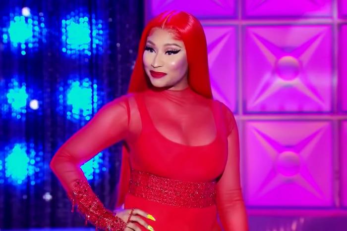 [WATCH] Nicki Minaj Spits Fire Freestyle on 'RuPaul's Drag Race'