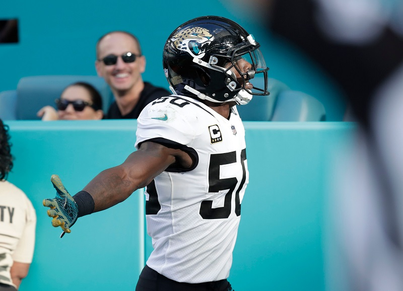 SOURCE SPORTS: Former Jacksonville Jaguar Telvin Smith Charged With Sexual Activity With a Minor