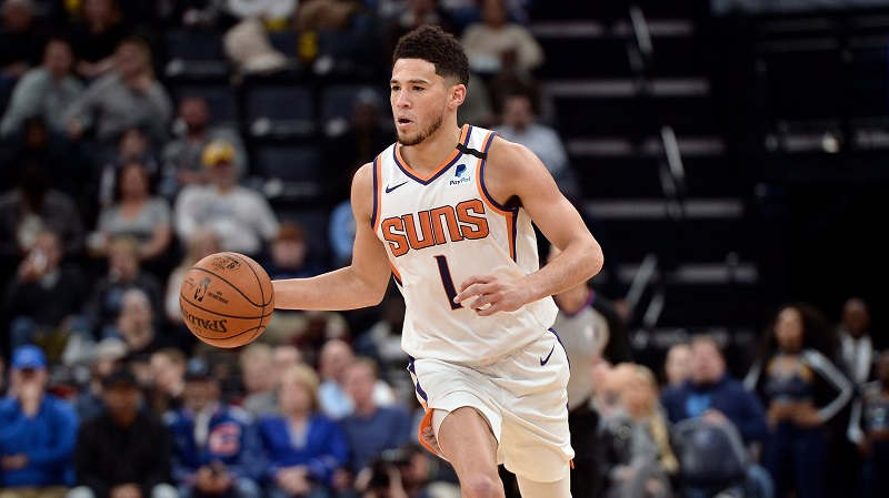 SOURCE SPORTS: Draymond Green Says Suns' Devin Booker Should 'Get Out Of Phoenix'