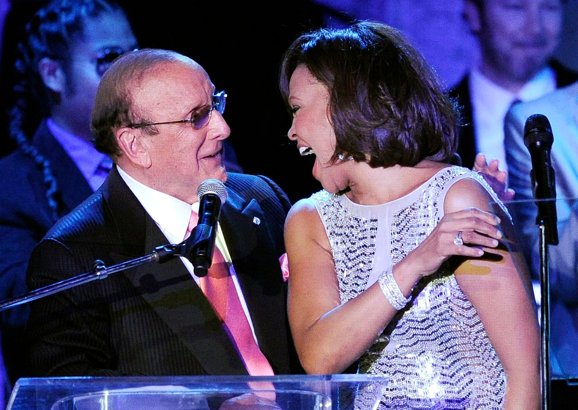 Clive Davis Partners With Whitney Houston's Estate for Official Biopic