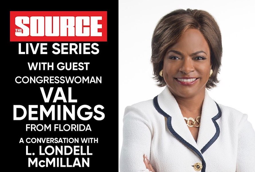 [VIDEO] Congresswoman Val Demings Joins The Source IG Live To Talk Florida's COVID Response, Gun Violence, And More