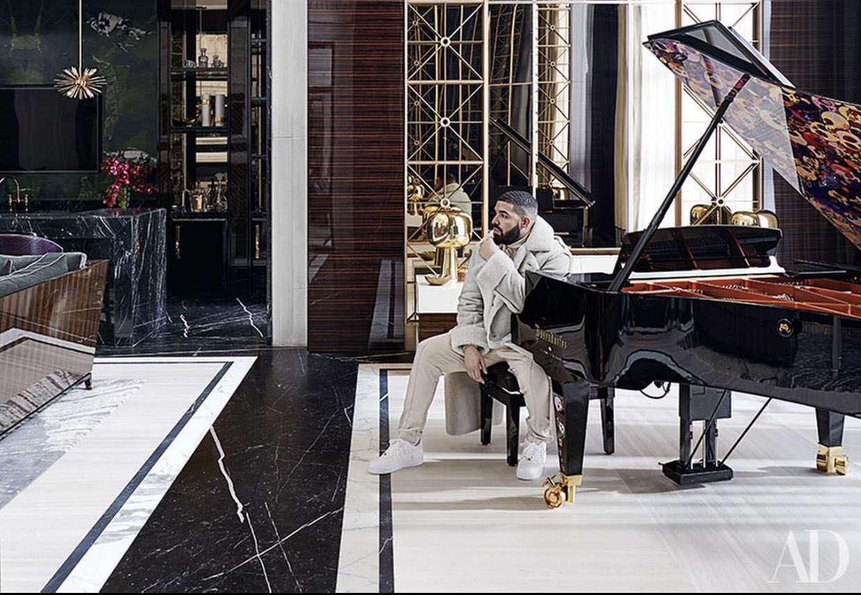 Drake Redefines Home Luxury In Upcoming Cover Story With Architectural Digest