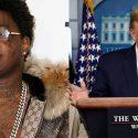 Kodak Black Wants Donald Trump to 'Pull Up' on Him to Discuss 'Brilliant Idea'