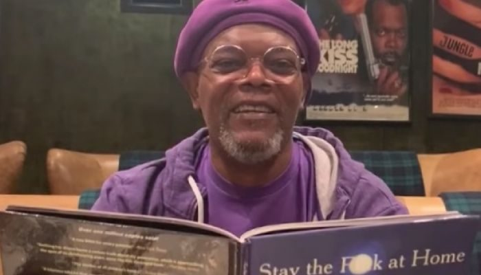 Samuel L. Jackson Reads Profane Poem Urging People to Practice Social Distancing: 'Stay the F**k at Home'