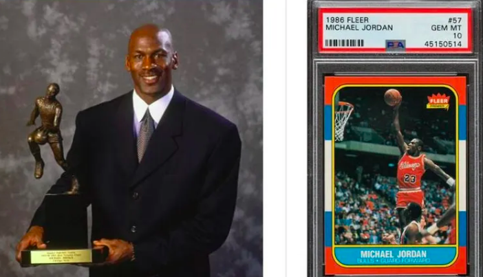 SOURCE SPORTS: Michael Jordan Rookie Card Sets New Record, Gets Sold For $51K