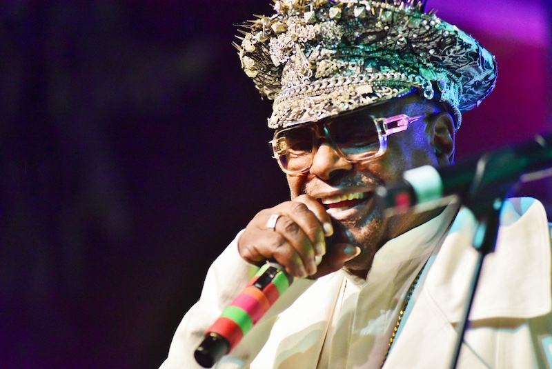 The Legendary George Clinton Set to Appear on The Source Live Series