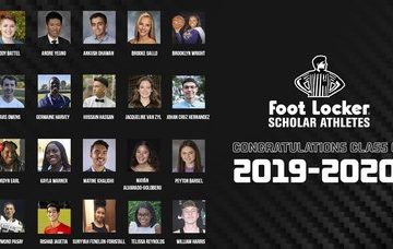 SOURCESPORTS:CollinSextonSurprisesFootLockerScholar AthleteScholarshipWinners
