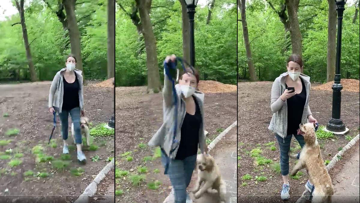 [WATCH] White Woman In Central Park Calls 911 On Black Man For Asking To Leash Her Dog