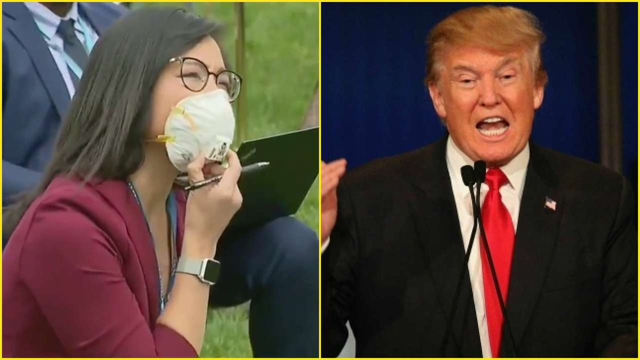 [WATCH] Trump Tells Asian-American Reporter To 'Ask China' After Coronavirus Question