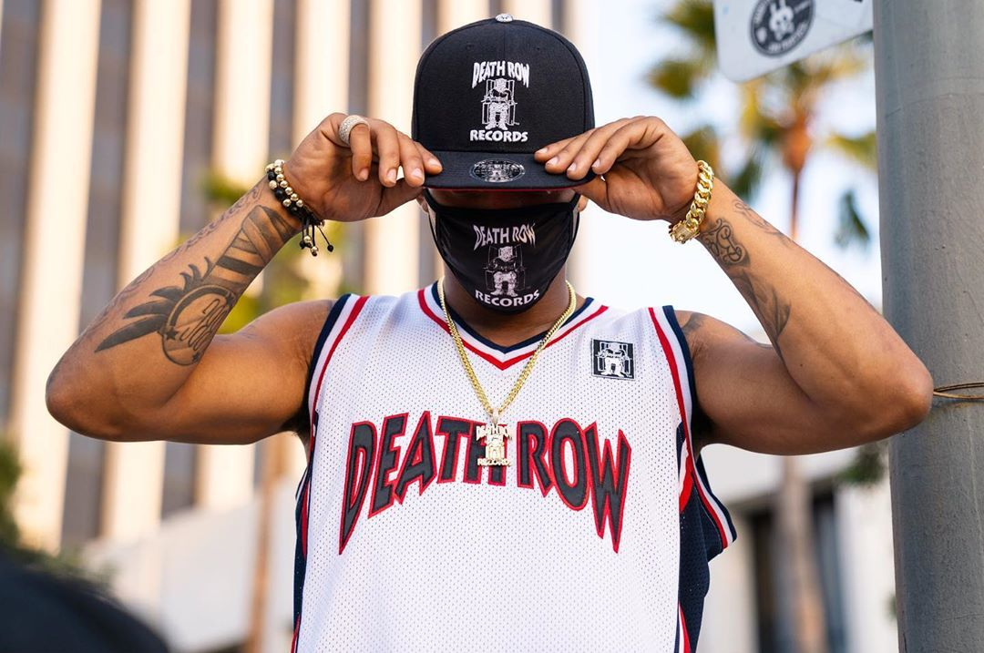King Ice Pays Tribute to Legendary Music Label Death Row Records With New Apparel Capsule