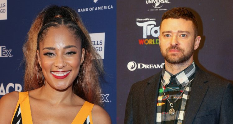 Amanda Seales Calls Out Justin Timberlake and 'White Celebrities' for Disabling Comments on Ahmaud Arbery Posts