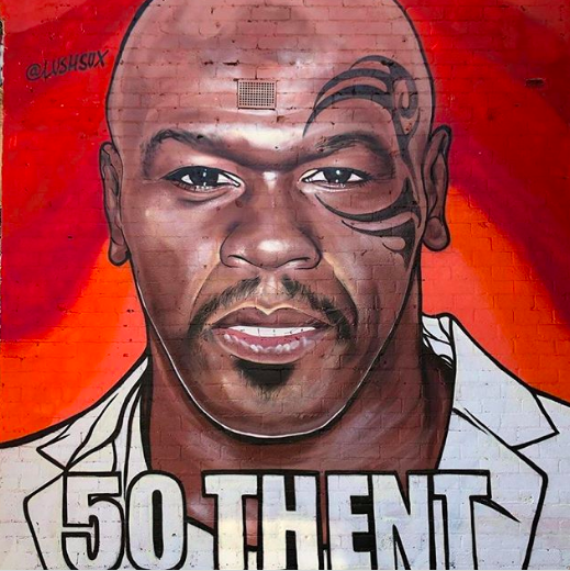 50 Cent: Street Artist LushSux Needs An A** Whooping Bad
