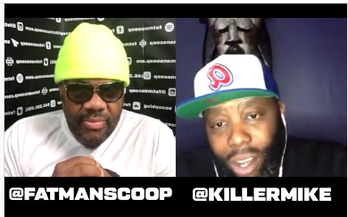 [WATCH] Killer Mike Talks Joe Biden, COVID-19 and More On Fatman Scoop TV