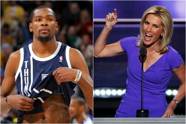 [WATCH] Laura Ingraham to LeBron and KD About Drew Brees: 'Shut Up And Dribble'
