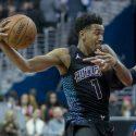 Malik Monk Charlotte Hornets vs Washington Wizards  cropped