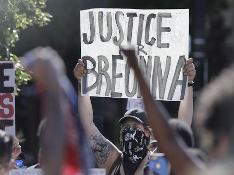 Ex-Officer Indicted with Three Counts, None Directly Associated with Breonna Taylor's Death