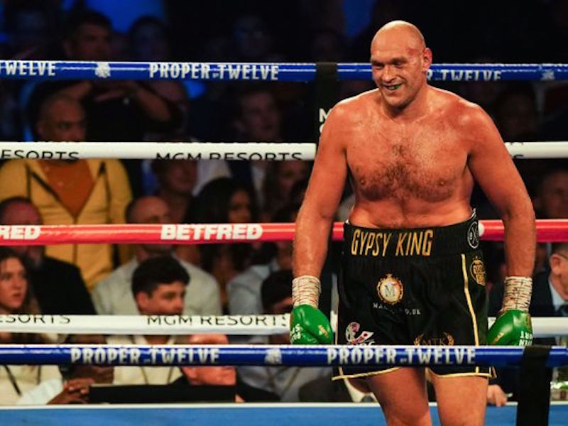 SOURCE SPORTS: Tyson Fury Takes Trilogy With An 11th Round Knockout
