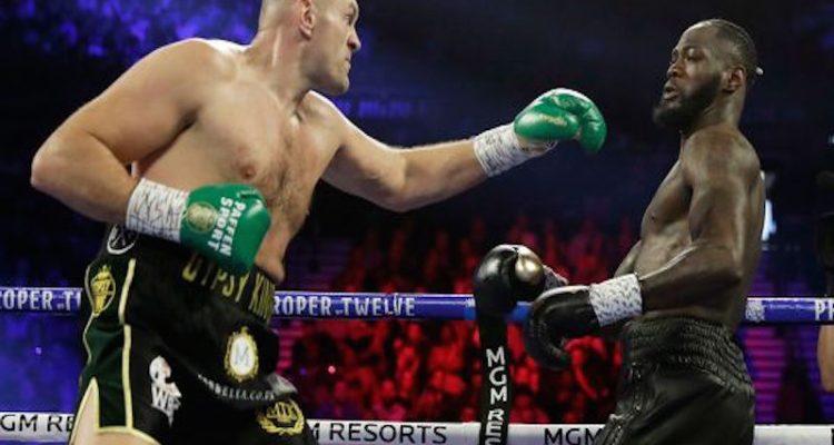 fury wilder boxing las vegas usa shutterstock editorial d
