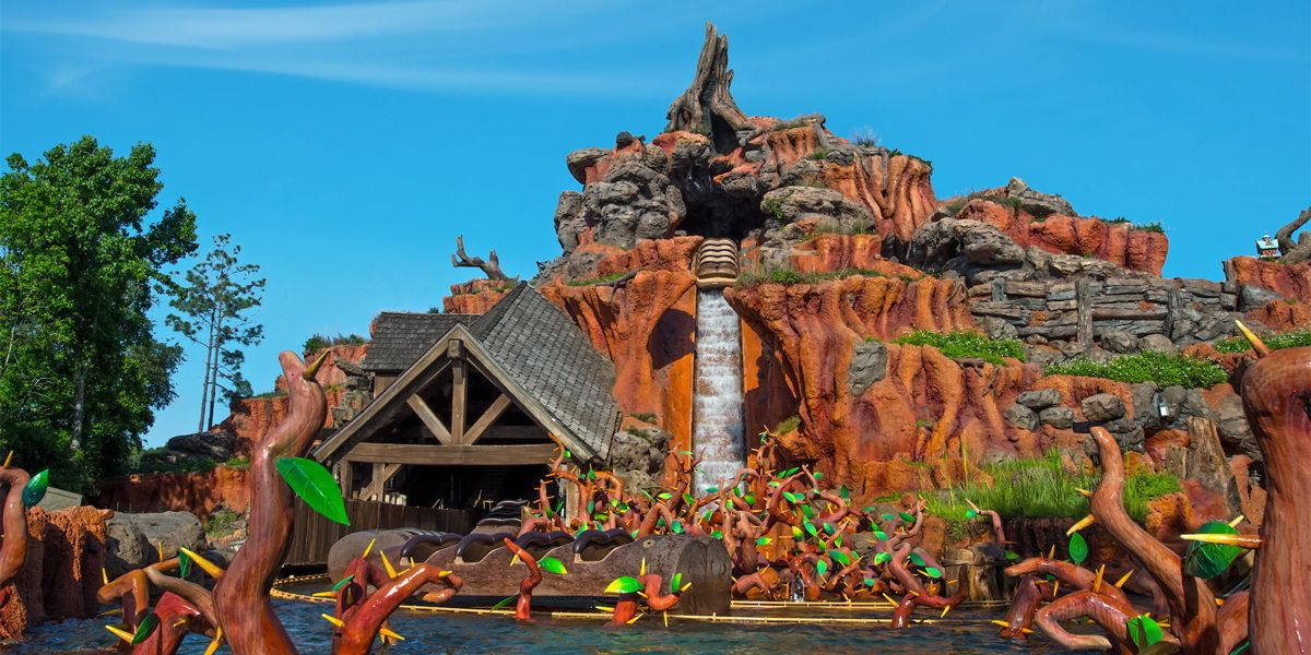 Disney's Splash Mountain Getting Rebranded Into a 'Princess and The Frog' Attraction