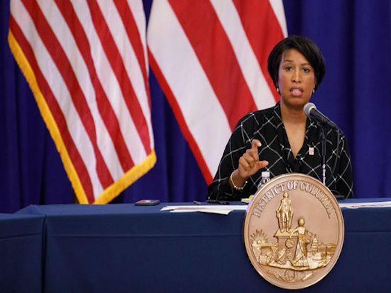 D.C. Mayor Muriel Bowser Kicks National Guard Out of the City