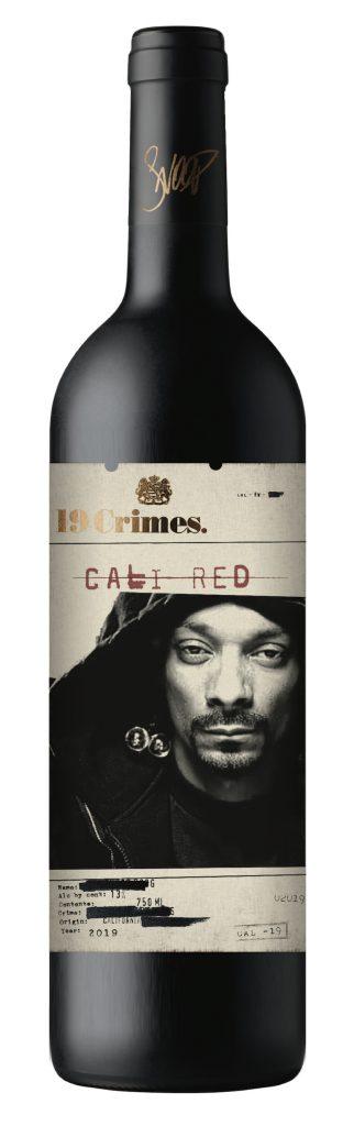 19 Crimes Snoop Cali Red Bottle Rendering